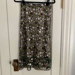H&M collection sequin pencil skirt